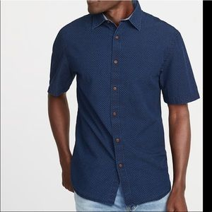 Men's Old Navy short sleeve button up